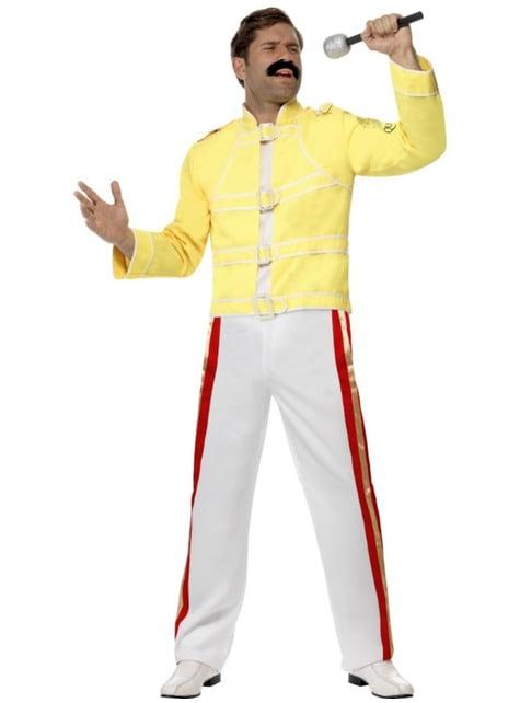 Maskeraddräkt Freddie Mercury Queen vuxen