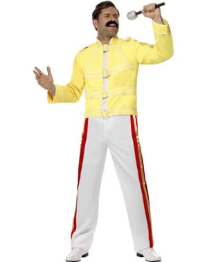 Costume Freddie Mercury Queen per uomo