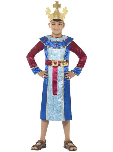 Disfraz de Rey Melchor classic para niño