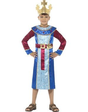 Klassisk Kong Melchior kostyme for gutter