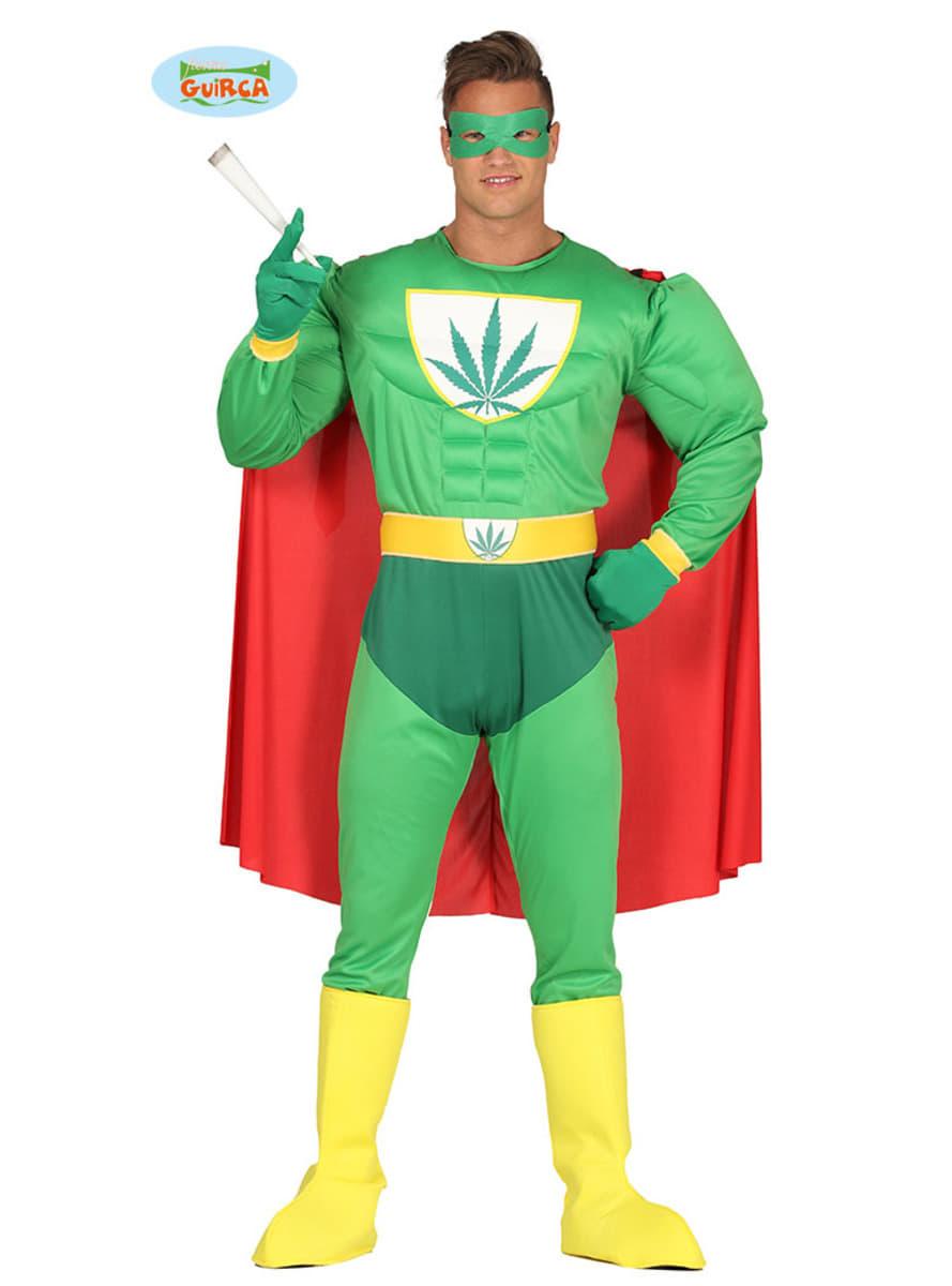 Groen superhelden kostuum voor volwassenen funidelia - Costume de super heros ...