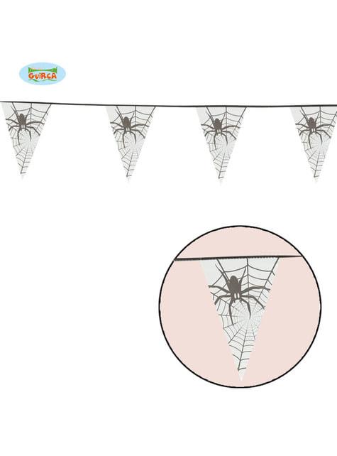 Banderín de araña de tela 6 metros