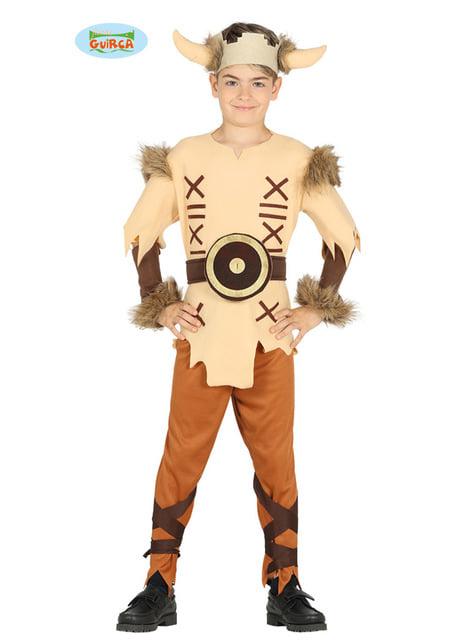 Disfraz de vikingo valiente para niño
