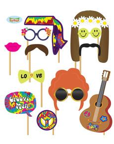 Fiesta Hippie Decoracion De Los Anos 60 Para Fiestas Y Cumpleanos - Decoracion-hippie-fiesta