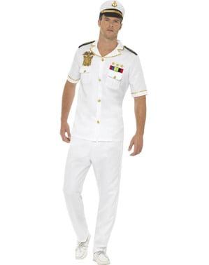 Fato de capitão de cruzeiro para homem
