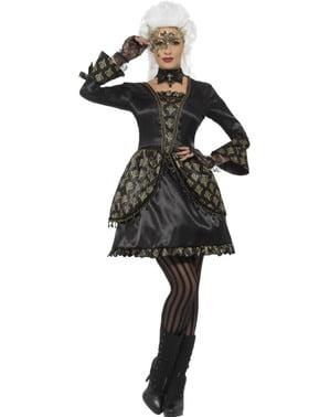 Costum fantoma de la operă pentru femeie