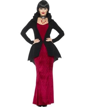 Eindrucksvolles Vampirin Kostüm für Damen