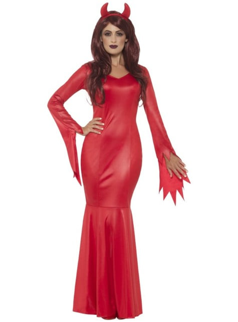 Women's magnificent devil costume