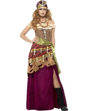 Costum de vrăjitoare voodoo pentru femeie