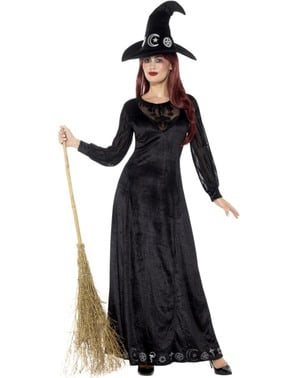 Women's witch of the shadows costume
