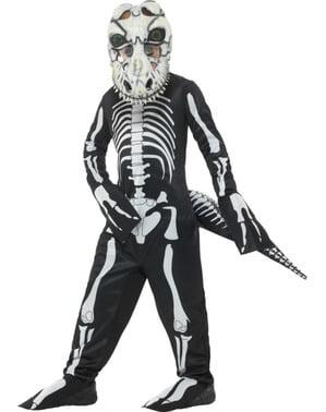 Tyrannosaurus Rex Skelett Kostüm für Kinder