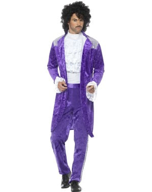 "Prince ""Purple Rain"" Costume for Men"