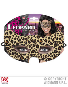 Antifaz de leopardo seductor para adulto