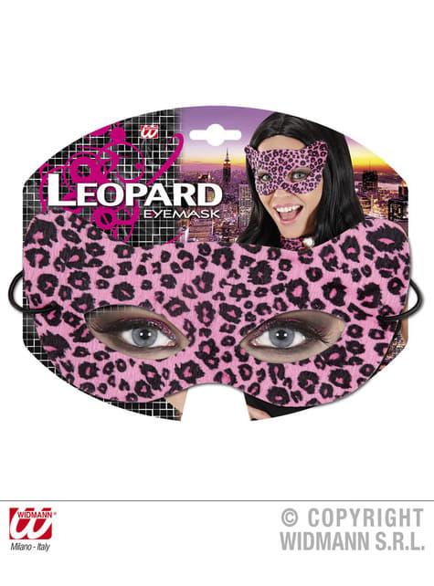 Loup léopard séducteur rose adulte