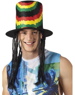 Rastafarian flosshatt til voksne