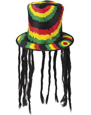 Rastafaria silinterihattu aikuisille