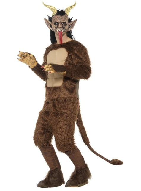 Deluxe Krampus costume for adults