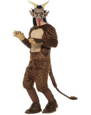 Deluxe Krampus kostuum voor volwassenen