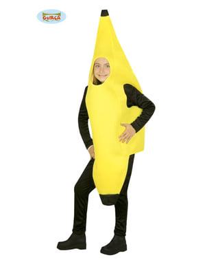 Costume da banana salutare per bambini