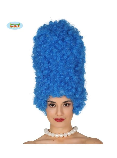 Marge curly tall wig for women
