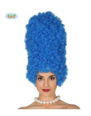 Peluca de rizos Marge alta para mujer