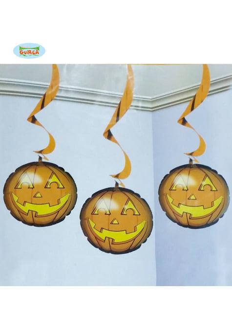 Hanging Pumpkin balloons