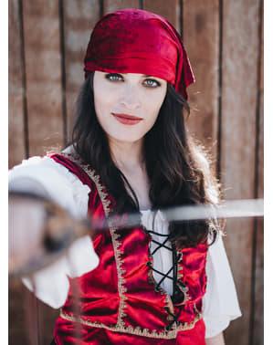 Fato de Pirata corsária Valorius
