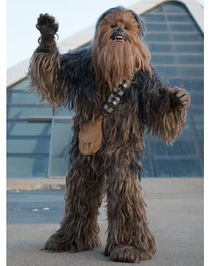 Overlegent Chewbacca Voksenkostyme