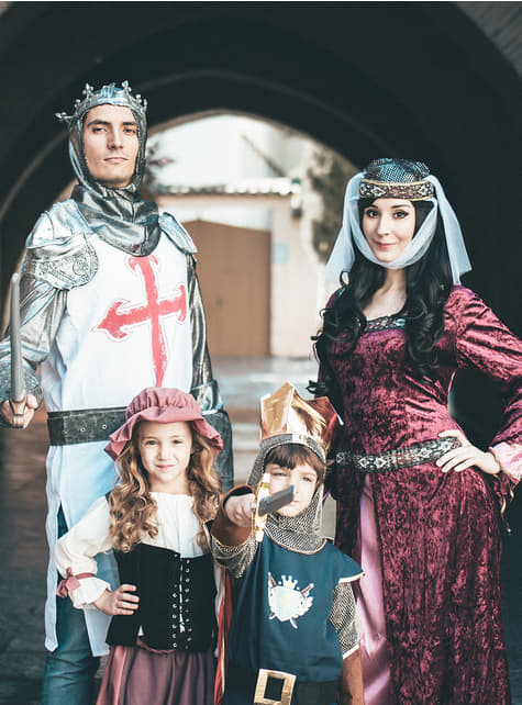 Disfraz de princesa medieval Lady Marion - mujer