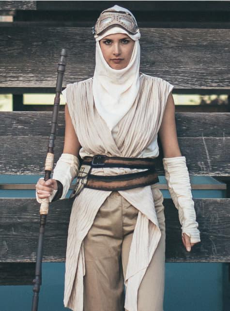 Disfraz de Rey Star Wars Episodio 7 para mujer - mujer