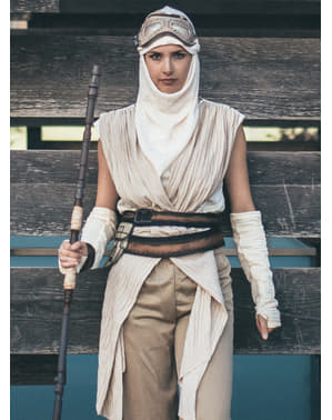 Costume da Rey Star Wars Episodio 7 da donna