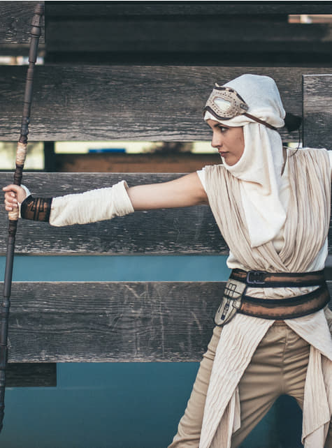 Disfraz de Rey Star Wars Episodio 7 para mujer - original