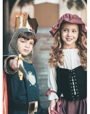 Costum de ospătar medieval Eliana fată