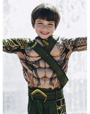 Costum Aquaman Batman vs Superman deluxe pentru băiat