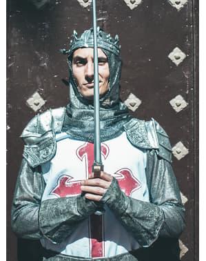 Costume da cavaliere templare per adulto