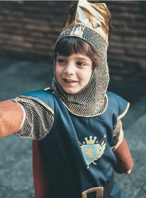 Disfraz de rey caballero para niño - original
