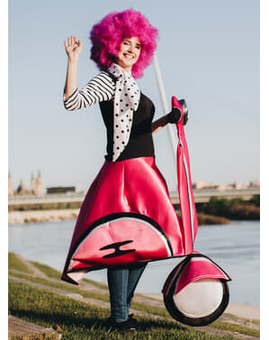 50s Lady on Pink Moped Costume
