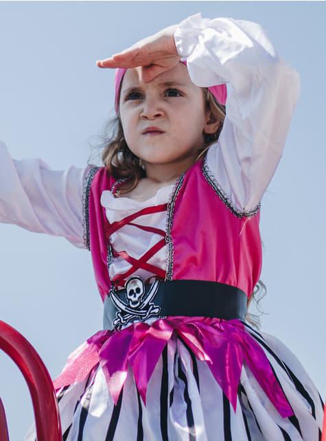 Disfraz de pirata coqueta para niña - original