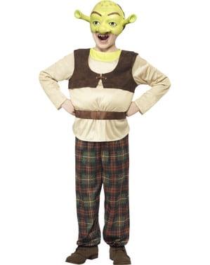 Maskeraddräkt Shrek deluxe för barn
