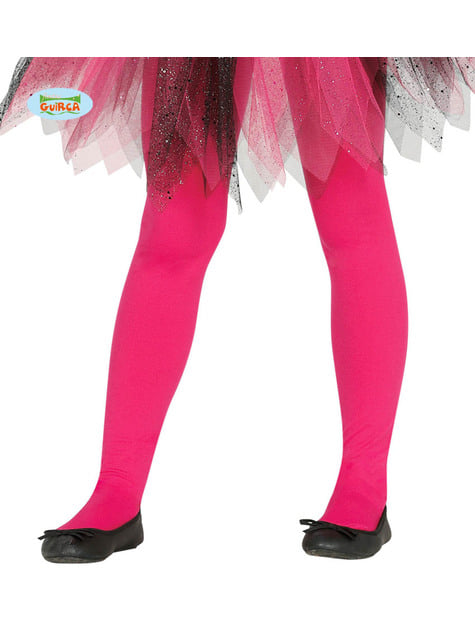 Kids's pink tights