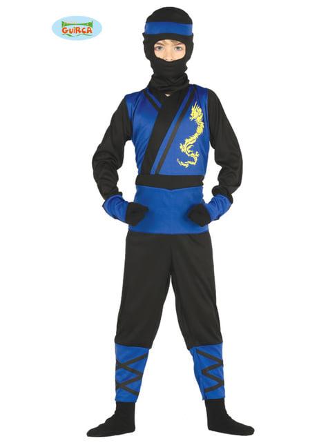 Fato de sub ninja mortal para menino