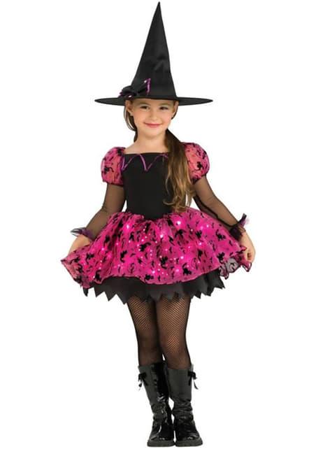 Light-Up Magic Witch Child Costume