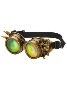 Gafas steampunk con ojos multicolor