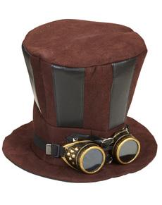 Sombrero Steampunk con gafas