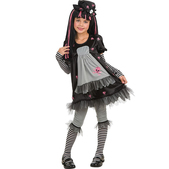 Disfraz de gothic girl Black Dolly
