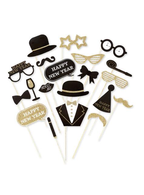 20 accesorios photocall Nochevieja