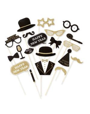 Набір з 20 штук на Новий рік Photocall