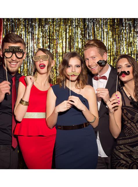 20 accesorios photocall Nochevieja - para tus fiestas