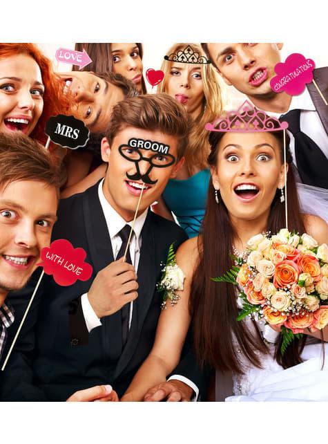 20 pièces pour photo call mariage