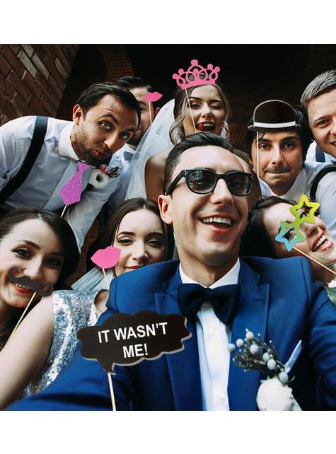 20 accesorios photocall boda años 20 - para tus fiestas
